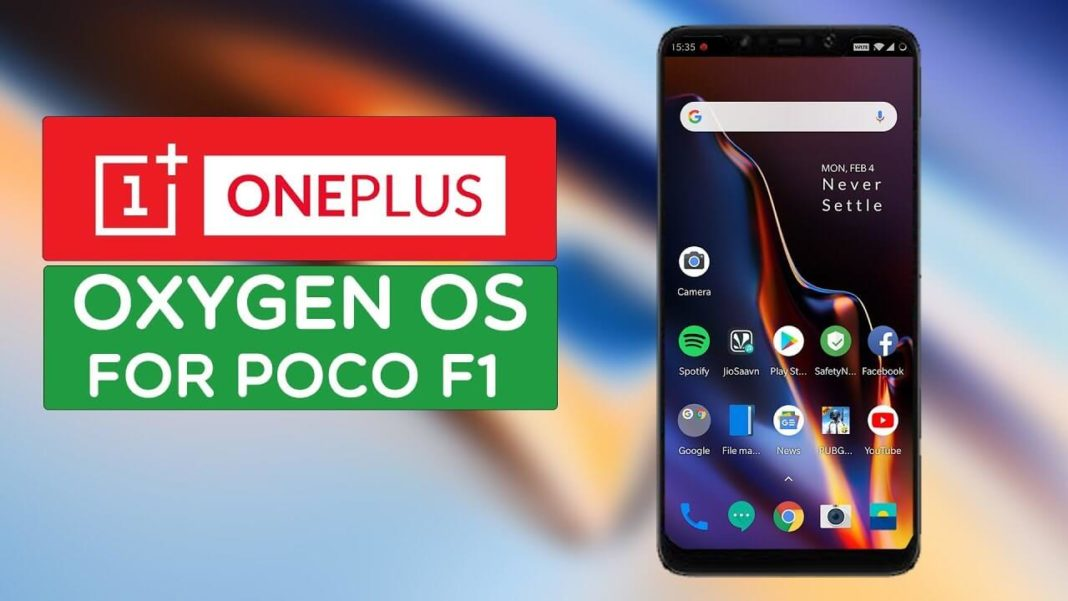 Oxygen OS For Pocophone f1
