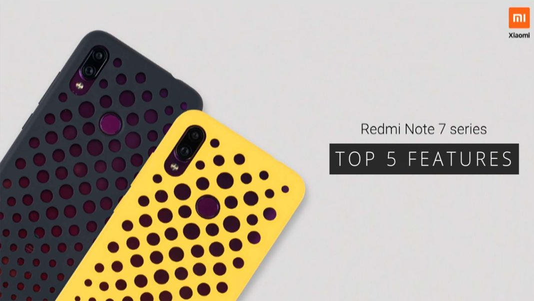 Features of Redmi Note 7 Pro