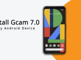 Install Gcam 7.0