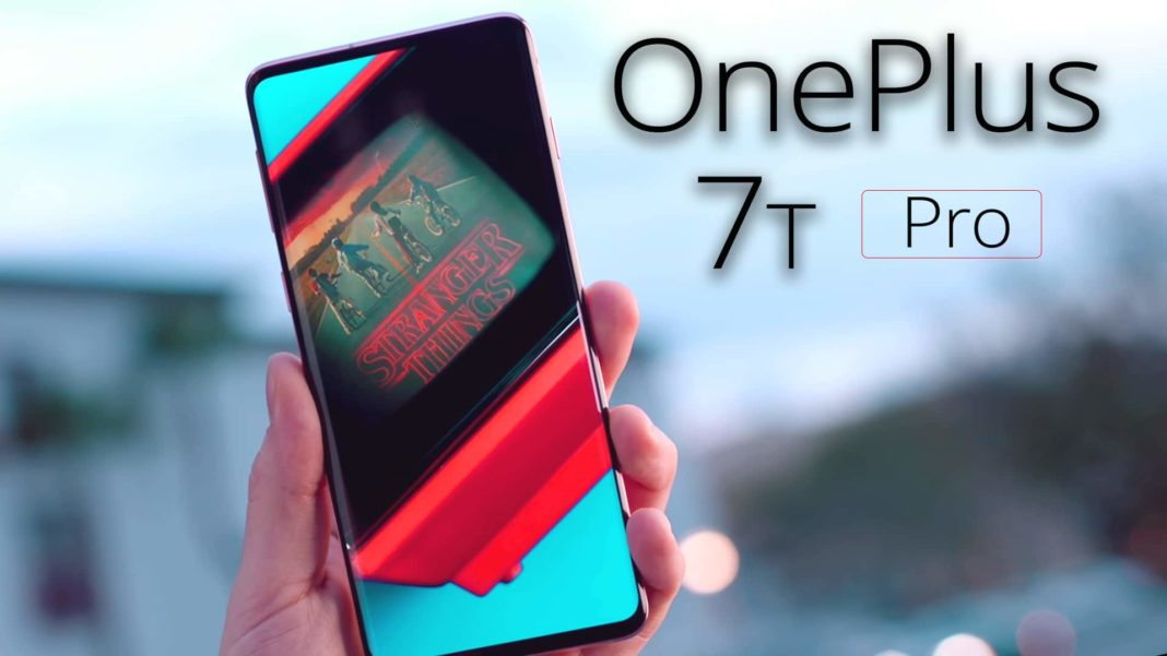 OnePlus 7T Pro Official Look in Haze Blue Colour