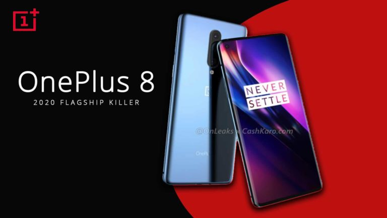 Oneplus 8 – First Look with Punch hole Camera