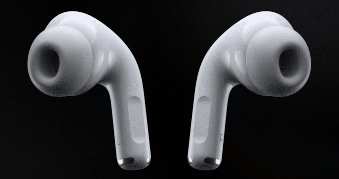 Apple airpods within the box