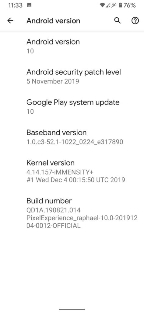 Pixel Experience ROM for Redmi K20 Pro/ Mi 9T Pro (Transform in Pixel 4)
