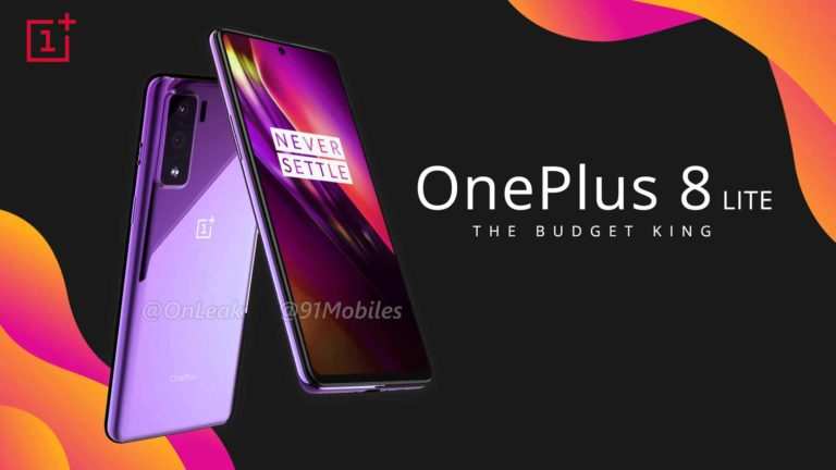 OnePlus 8 Lite – First Official Look (2020 Budget King?)