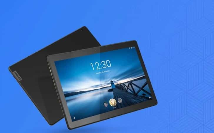 10.1 inch Lenovo M10 FHD REL tablet arrived in circuit