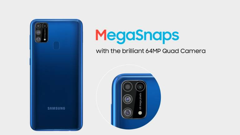 Samsung Galaxy M31 camera and variant information disclosed