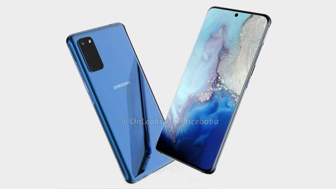 Recent leak reveals Samsung Galaxy S20 renders