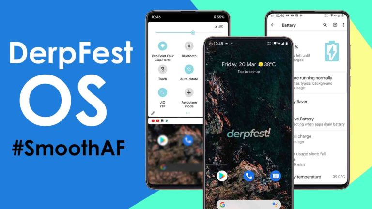 Amazing DerpFest OS Rom Review – King Of All Android ROMS ?