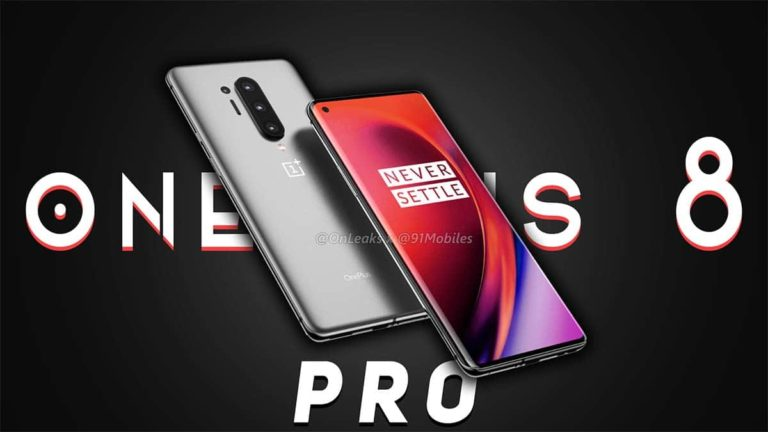 OnePlus 8 Pro 5G rear side spotted in a random location