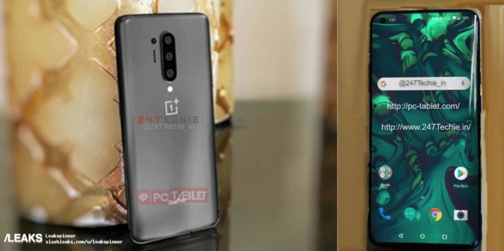 OnePlus 8 Pro live images surfaced on the internet