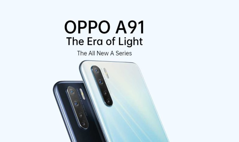 Mid-ranged Oppo A91 arrived at a price tag of $499