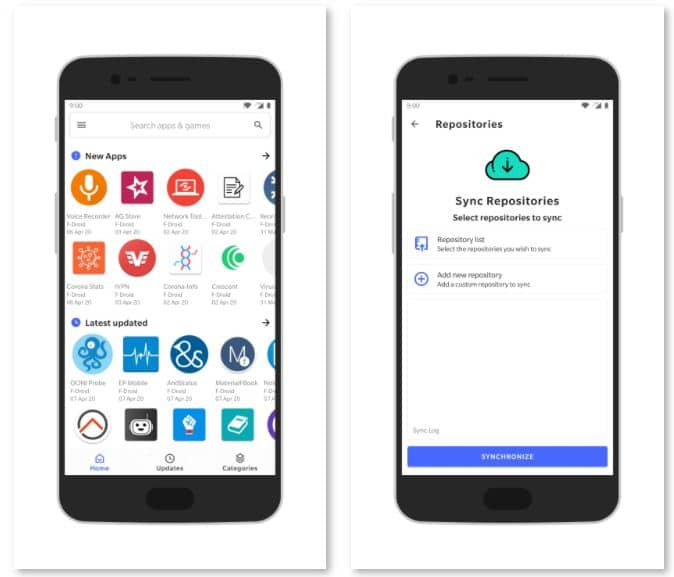 15+ UNKNOWN Best Google Play Store Alternatives [2021]