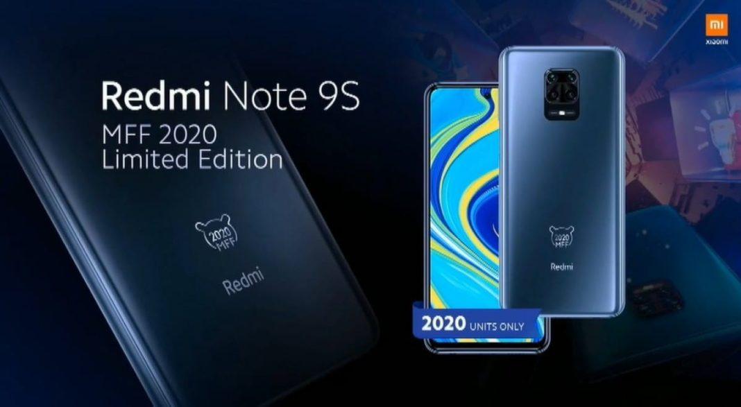 Redmi Note 9s MFF