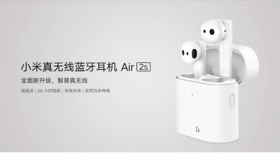 Mi Air 2s wireless earphones