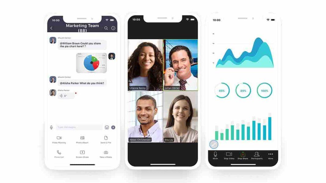 Video Calling App zoom