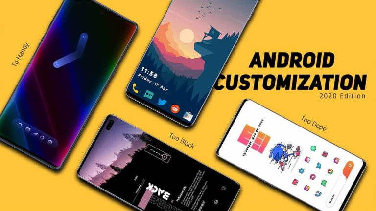 40+ STUNNING Best Android Customization Apps 2021 (July)