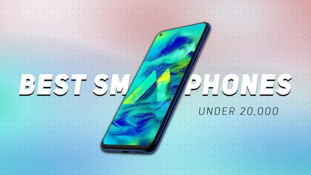 Best Smartphones Under 20000 in India 2021 (March)