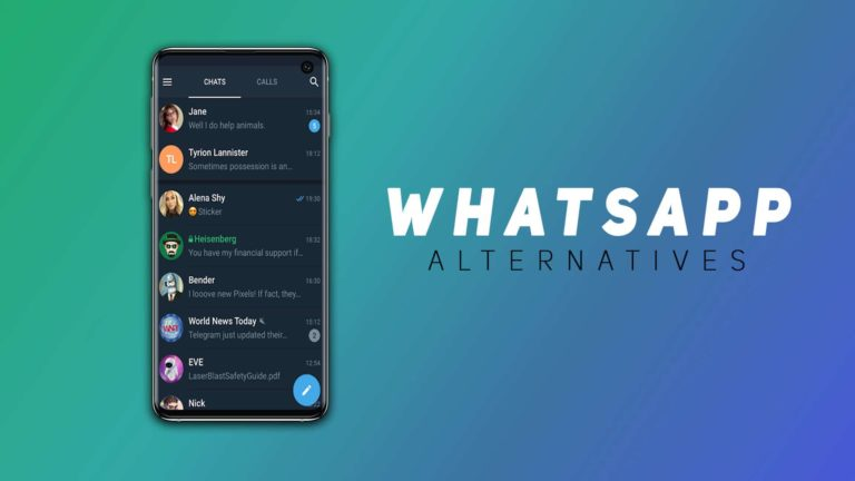 15 Best WhatsApp Alternatives For Android (2021 Edition)