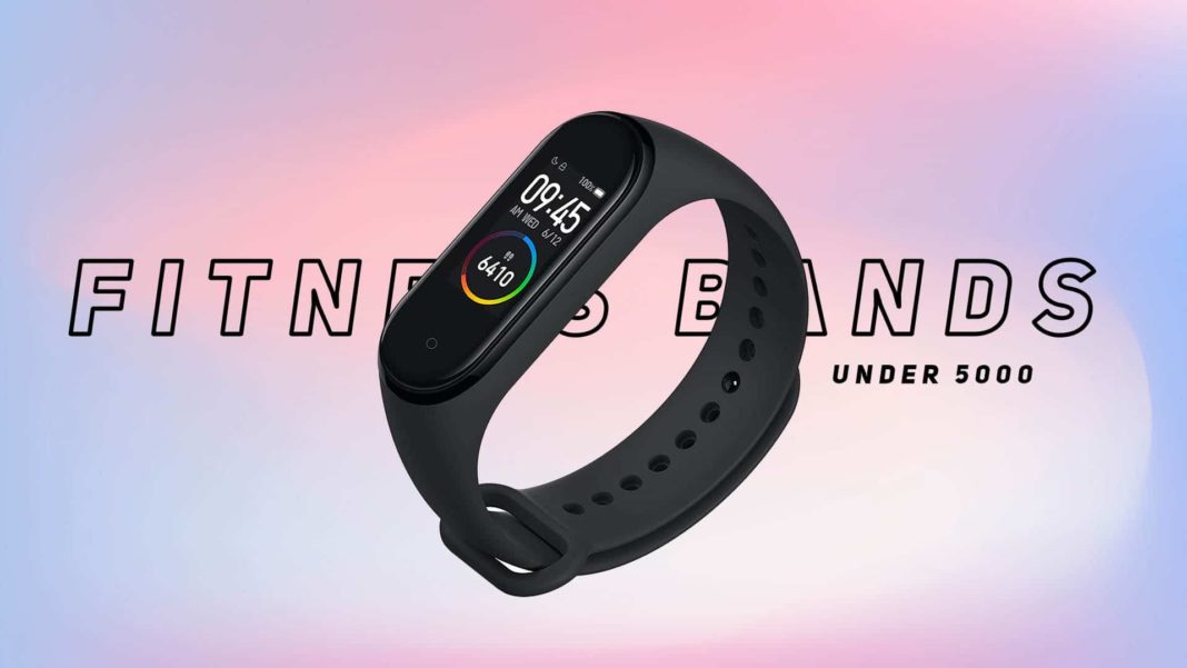 Fitness Bands under 5000