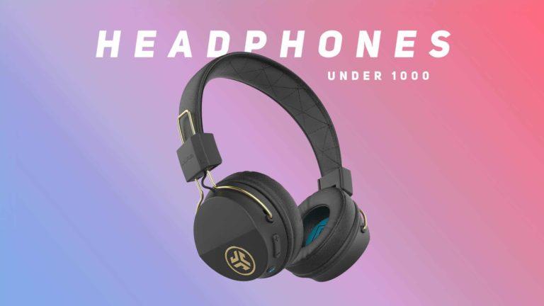 Best Wireless Headphones Under 1000 in India 2021 (March)