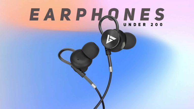 Best Earphones Under 200 in India (September 2020)