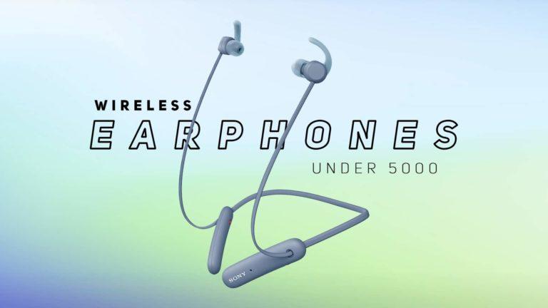 Best Wireless Earphones Under 5000 in India 2021 (March)