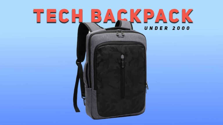 Best Tech Backpack Under 2000 In India [2021 Update]
