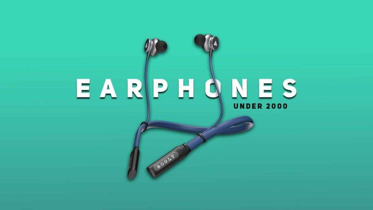 Best Wireless Earphones Under 2000 in India 2021 (March)