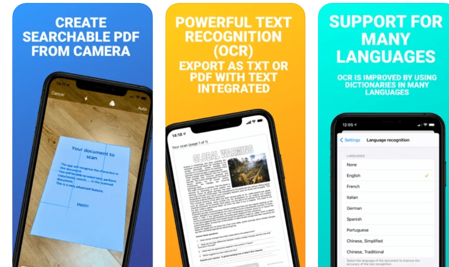 Best Scanning Apps For iPhone in 2021 (Mobile Scanner Apps)