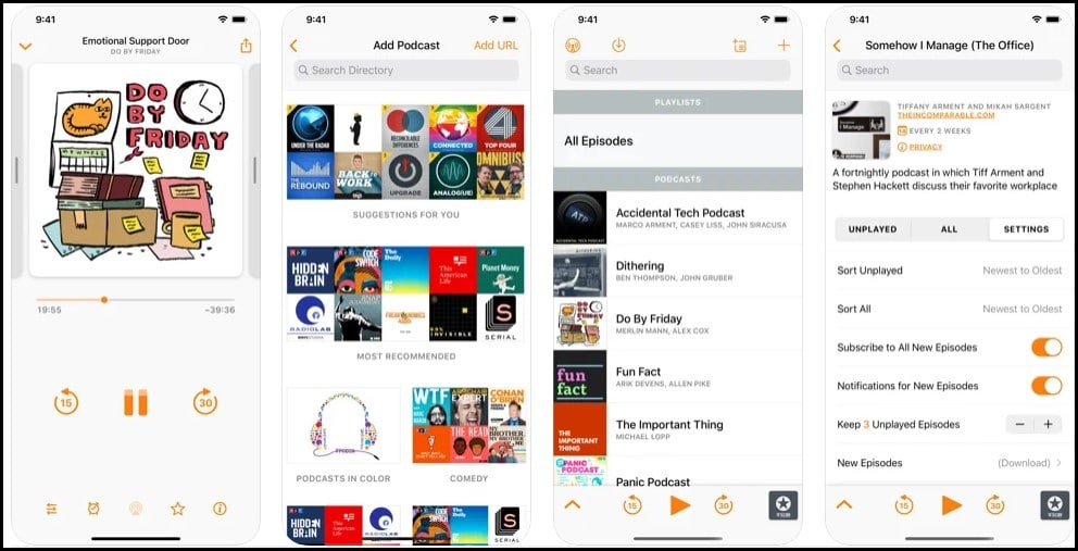 10+ Distinctive Best Podcast Apps For iPhone in 2021