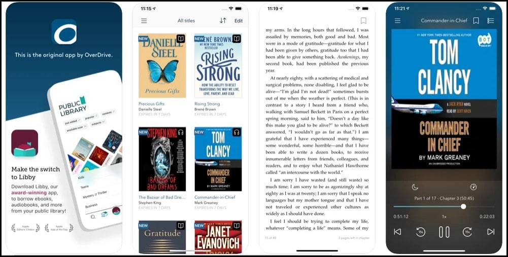 The 10 Best Audiobook Apps For iPhone in 2021