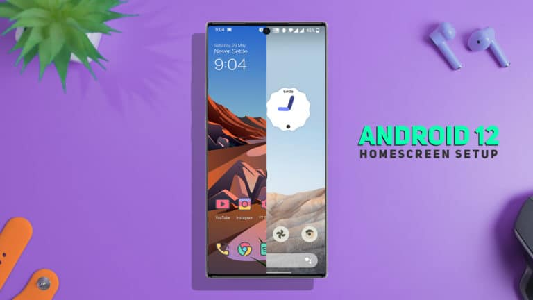 How to Get Android 12 Look on Any Android device [NO ROOT]