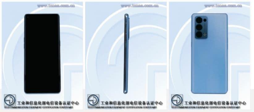 Oppo Reno6 Pro, Reno6 Pro+ specifications revealed on TENNA