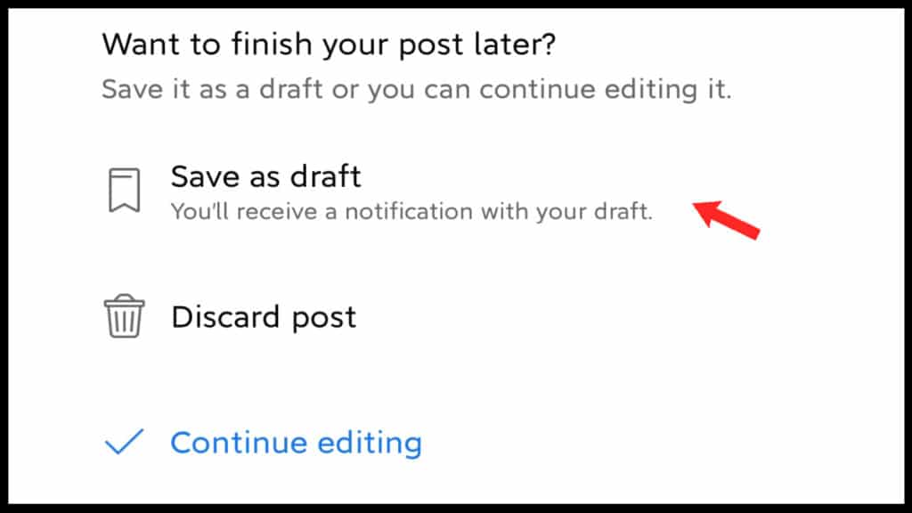 How to Create and Find Drafts on Facebook App & Website in 2021