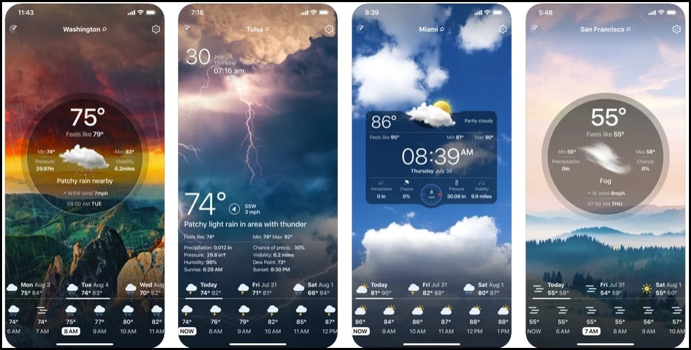 The 9 Best Weather App for iPhone in 2021