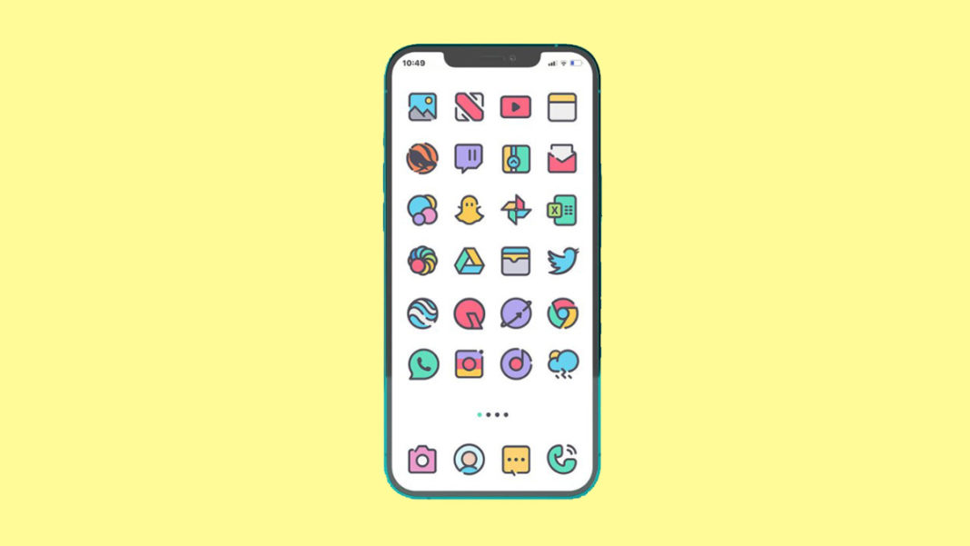 Best Icon Pack For iPhone
