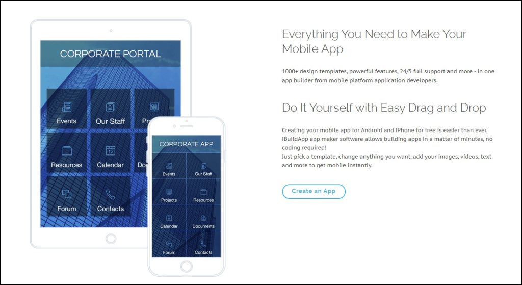12 Best App Builder To Make Your Own Mobile App in 2021